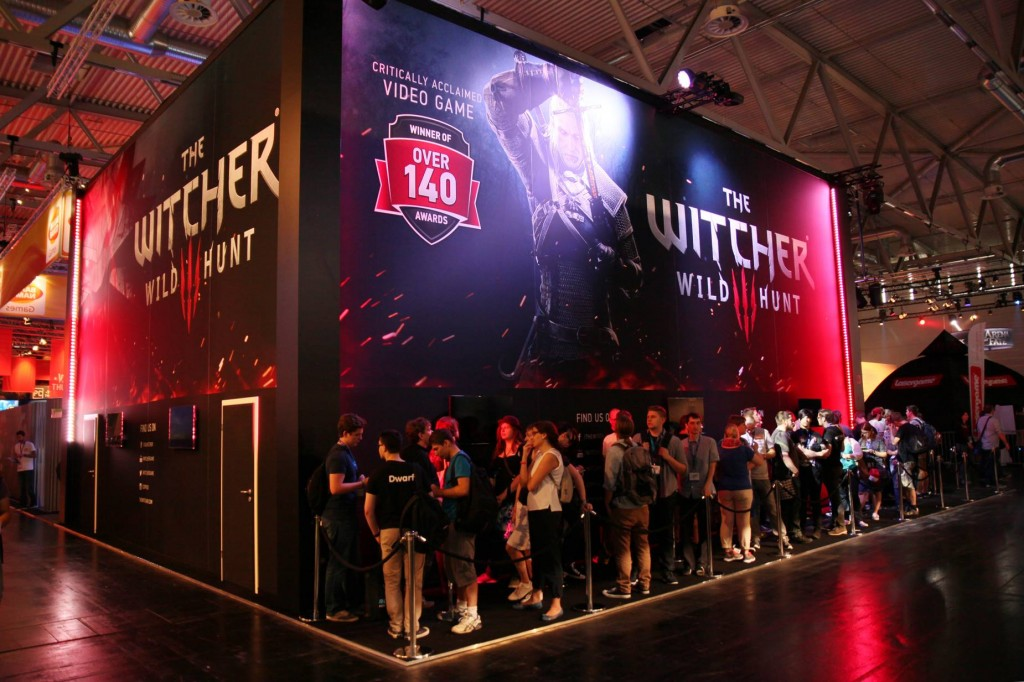 The Witcher 3: Wild Hunt auf der gamescom 2014 - Quelle: https://www.facebook.com/thewitcher