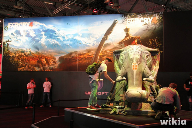 Far Cry 4 auf der gamescom 2014 - Quelle: Tim Bartel (https://www.flickr.com/photos/avatar-1/)