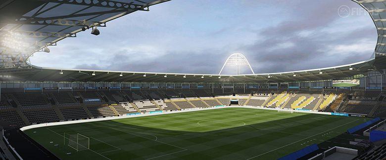 Auch die Stadien der englischen Premier League werden vollständig verfügbar sein.