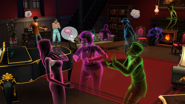 TS4_Ghosts_Party