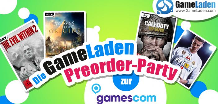 Gamescom 2017 – Die GameLaden Preorder-Party Teil 2