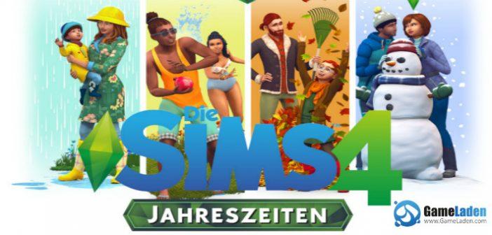 Die Sims 4: Jahreszeiten – Genieße die vier Jahreszeiten und das wechselnde Wetter